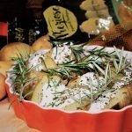 Le Ricette dell'Orto – Preziose al Cartoccio con Panna Acida alle Erbe