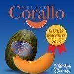 """Il Melone Corallo premiato con la  Medaglia d'Oro al """"MacFrut Innovation Award 2019"""""""