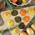 Le Ricette dell'Orto – Patate Duchesse Tricolori