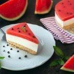 "Cheesecake all'anguria ""Eleonora"""