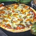 Pizza ai Carciofi e Bottarga