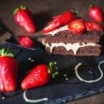 Torta FraGolosa al cacao e crema